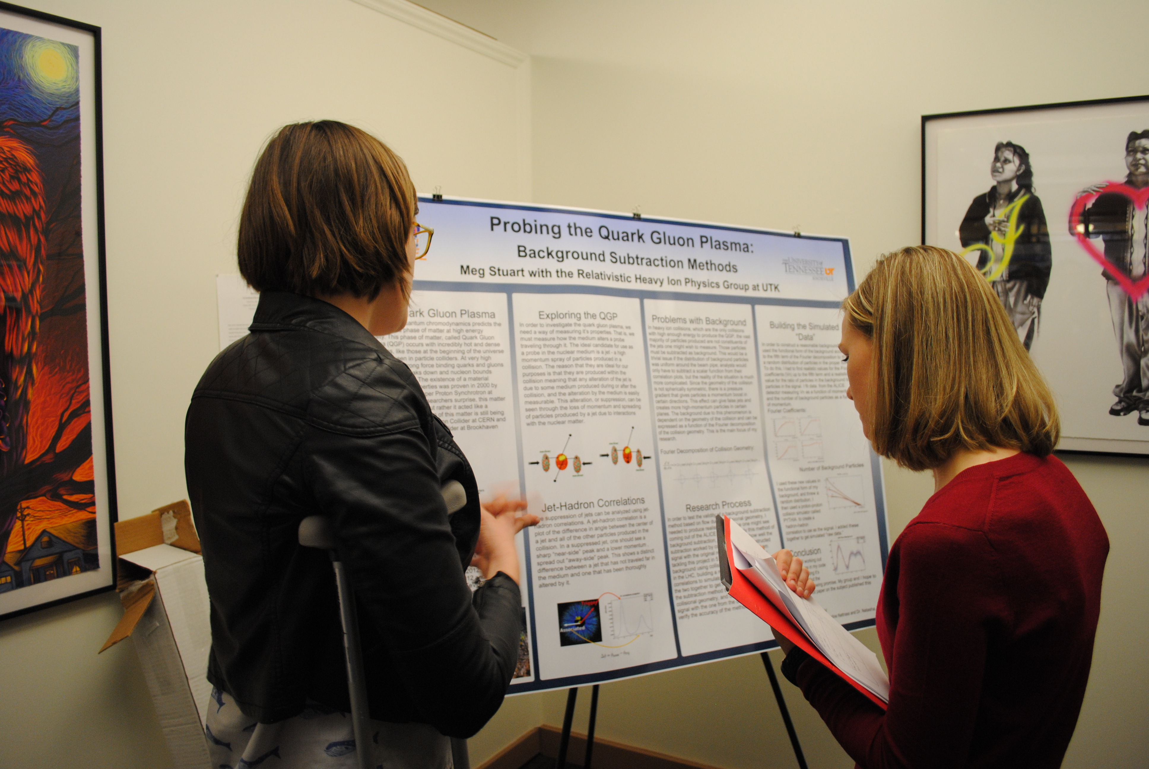 APS Conference for Undergraduate Women in Physics at the Research Triangle, NC (2015)
